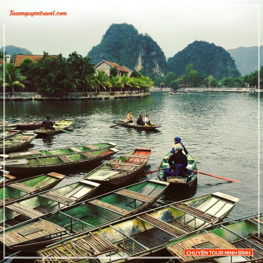Tour Bái Đính Tràng An ngồi làng Kong bí ẩn 1 ngày